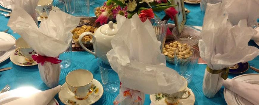 St Michael Annunication Tea