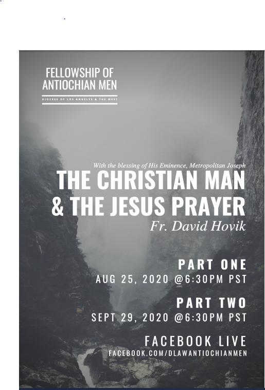 Fellowship of the Antiochian Men